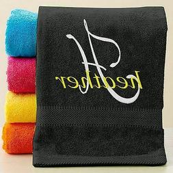 Personalized Bath/Beach Towel with FREE Custom Embroidery ~