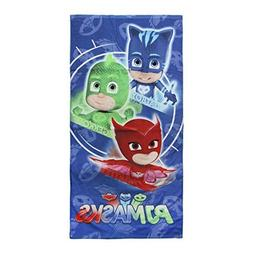 "Pj Masks 2200002796 Beach Towel, Bath, Pool, Cotton 28"" x 55"