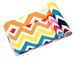 Winthome Microfiber Beach Towels Set 2 Pack Extra Large Ligh