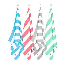 Dock & Bay Quick Dry Towel Set - Set of 4, Extra Large  - Be
