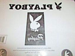 76ac45bbbf6 NEW Official Playboy Rabbit Head Black Beach Towel 30 x 60 I