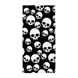 CafePress Random Skull Pattern Beach Towel