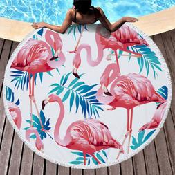 Round Tapestry,Beach Throw,Scarf Cloak Beach Towel 60 inch