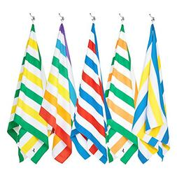Dock & Bay Sand Free Beach Towel Set - Set of 5, Large  - Qu