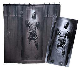 "Star Wars Han Solo Carbonite Beach Towel 30"" x 60"" & Shower"