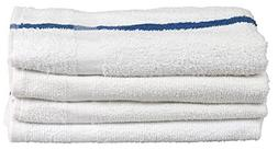 American Terry Mills Stripe Bath Towels 5# per Dozen Pool To