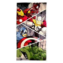 Marvel Super Heroes Beach Towel 28X58