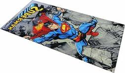 Super Man Rocks Beach Towel 100% Cotton