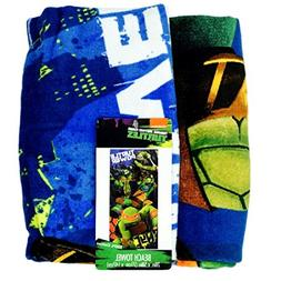 Teenage Mutant Ninja Turtles Turtle Power Beach Towel 100% C