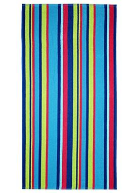 Cotton Craft 2 Pack Terry Beach Towel -Dobby 30x60 - Chelmsf