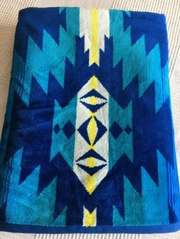 PENDLETON THICK BEACH TOWEL, Papago Park pattern, Subaru log