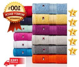 tommy hilfiger bath towel collection 100 percent