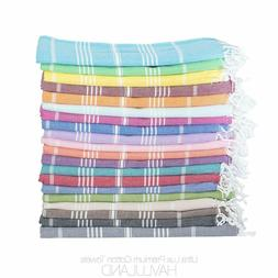 Turkish 100 % Cotton Towel Fouta Peshtemal for Beach Bath Sp