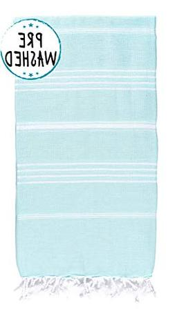 Wetcat Original Turkish Beach Towel  - Prewashed Peshtemal,