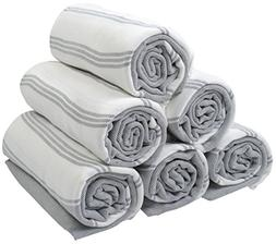100% Turkish Cotton Bath Beach Hammam Towel Peshtemal Throw