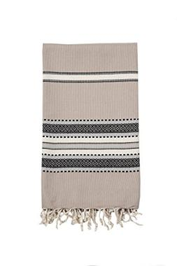 InfuseZen Large Turkish Towel, Oversized Beach Towel or Bath