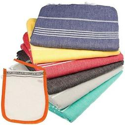 Turkish Towel Set of 6 Beach Towels Oversized Clearance Fast