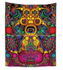 US SELLER - beach towel wall decals psychedelic trippy wall
