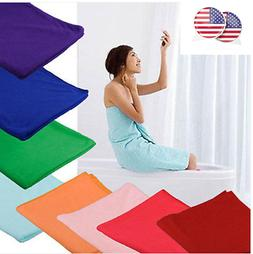 US STO Microfiber Towel Sports Gym Bath Quick Dry Travel Swi