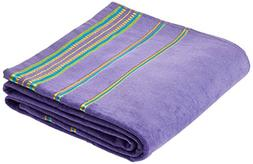 "Velour Oversized 40"" x 70"" KING SIZE Beach Towels. - PURPLE"