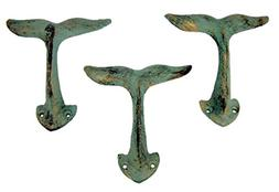 Home Originality Whale Tail Cast Iron Wall Hook 4 3/8 Inch