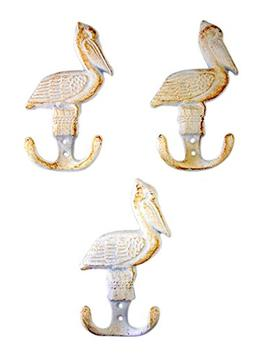 White Pelican Cast Iron Wall Hook 5 3/4 Inch
